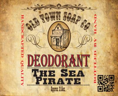 The Sea Pirate -Deodorants