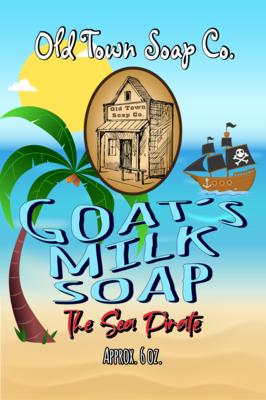 The Sea Pirate -Goat's Milk Soap