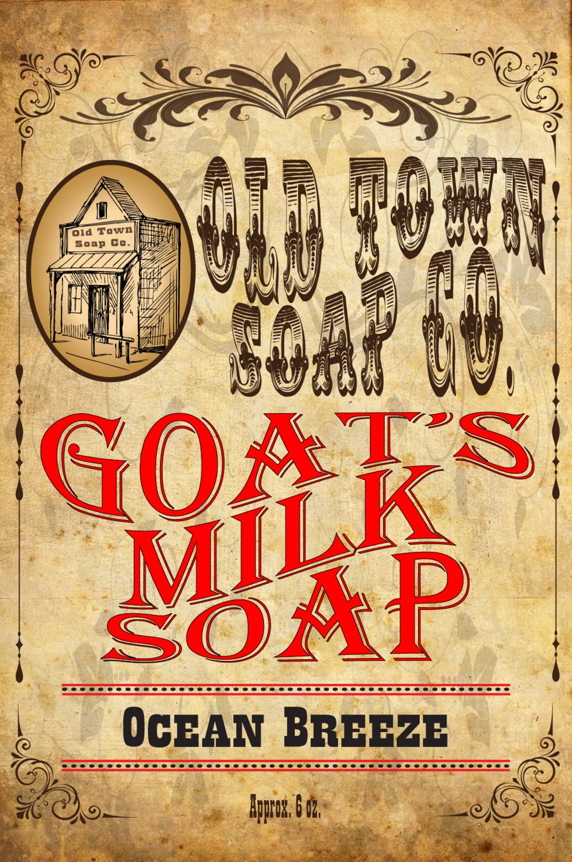 Ocean Breeze -Goat's Milk Soap