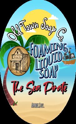 The Sea Pirate -Pump Liquid Soap