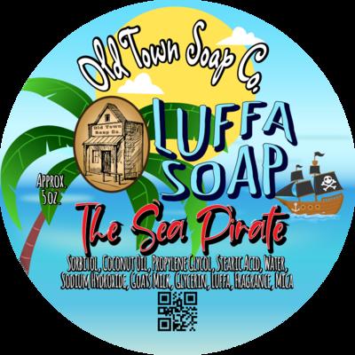 The Sea Pirate -Luffa Soap
