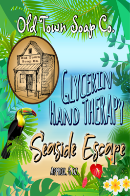 Seaside Escape -6oz Tube Hand Therapy