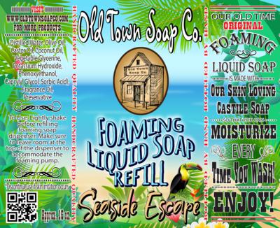 Seaside Escape -Refill Liquid Soap