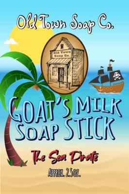 The Sea Pirate -Goat's Milk Soap Sticks