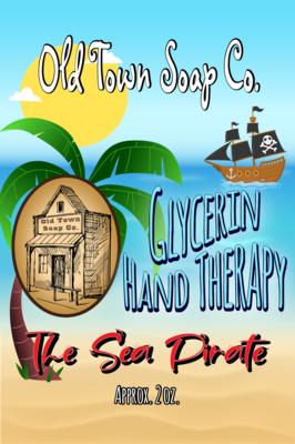 The Sea Pirate -2 oz Tube Hand Therapy