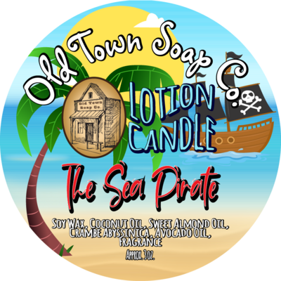 The Sea Pirate -Lotion Candle