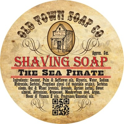 The Sea Pirate -Shave Puck