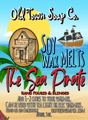 The Sea Pirate -Wax Melts