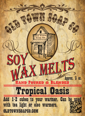 Tropical Oasis -Wax Melts