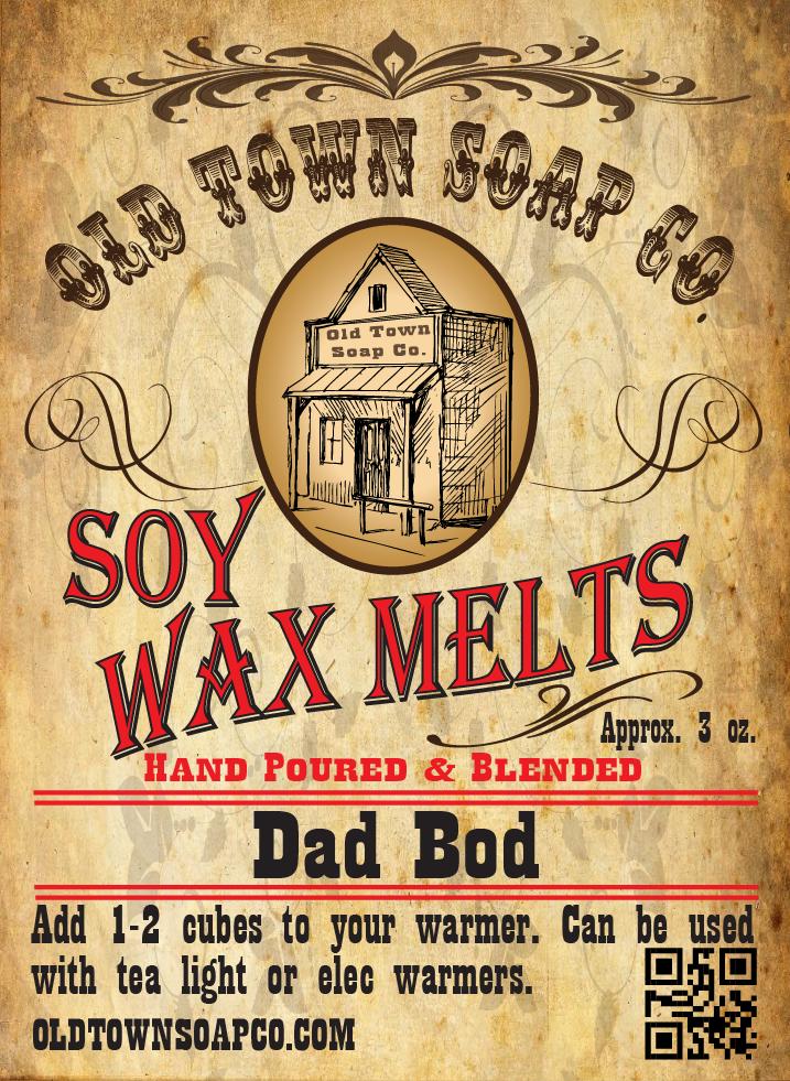 Dad Bod -Wax Melts