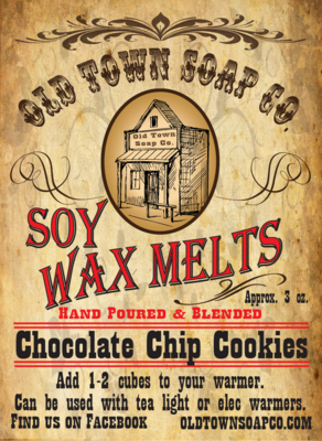 Chocolate Chip Cookie -Wax Melts