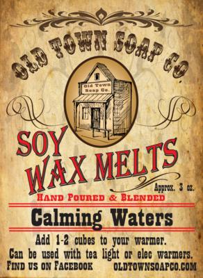 Calming Waters -Wax Melts