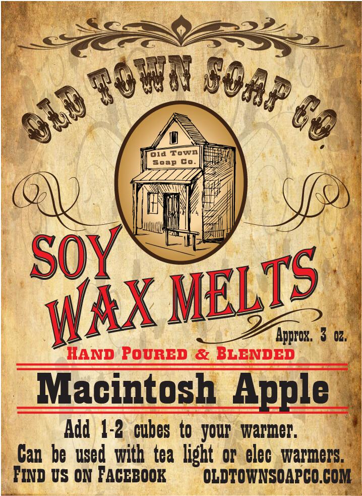 Macintosh Apple -Wax Melts