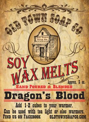 Dragon's Blood -Wax Melts
