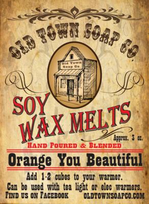 Orange You Beautiful -Wax Melts
