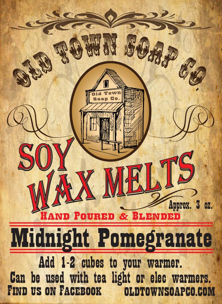 Midnight Pomegranate -Wax Melts