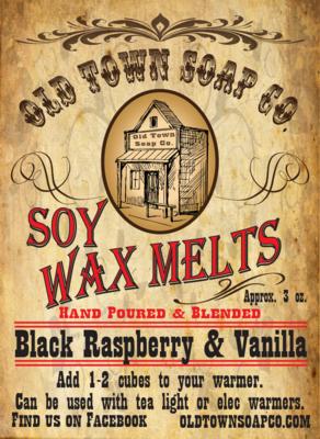 Black Raspberry & Vanilla -Wax Melts
