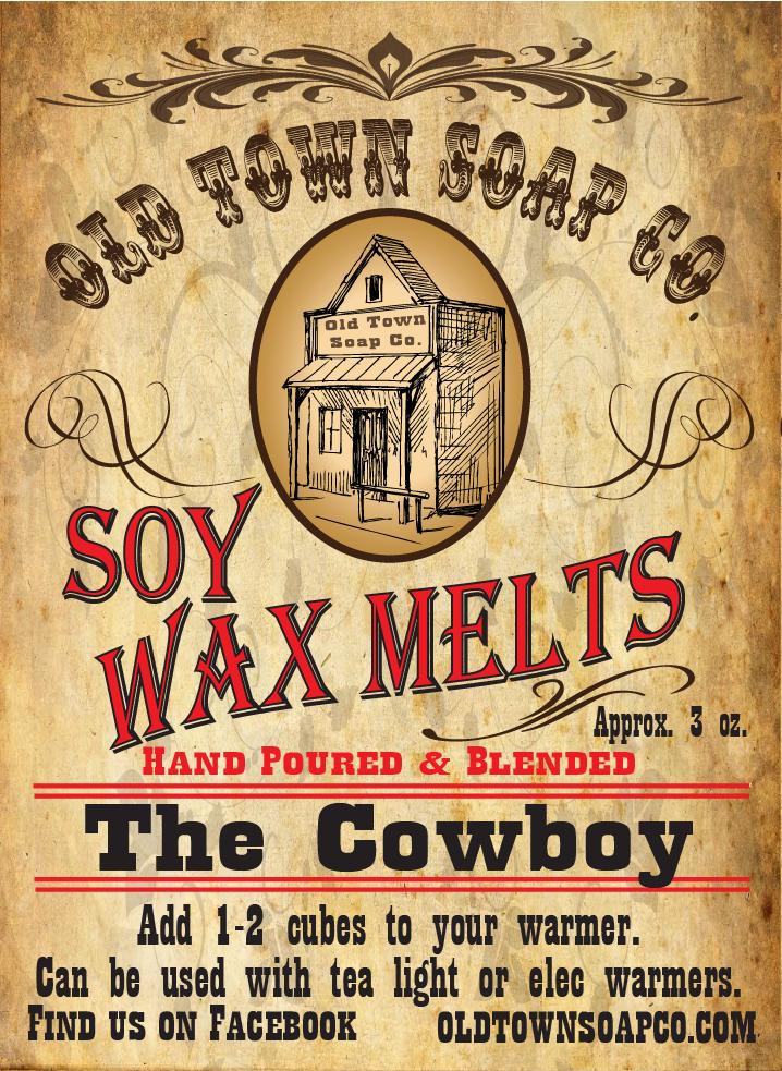 The Cowboy -Wax Melts