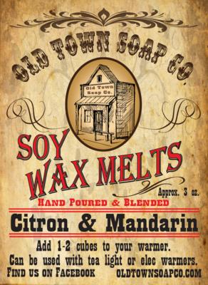 Citron & Mandarin -Wax Melts