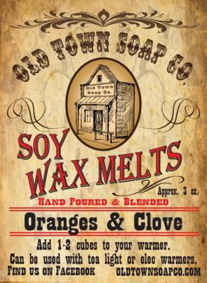 Oranges & Clove -Wax Melts