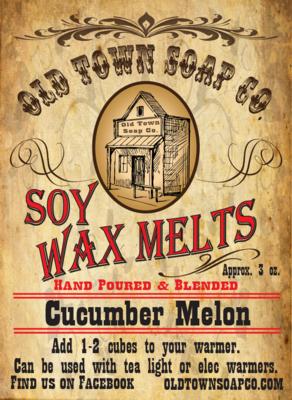Cucumber Melon -Wax Melts
