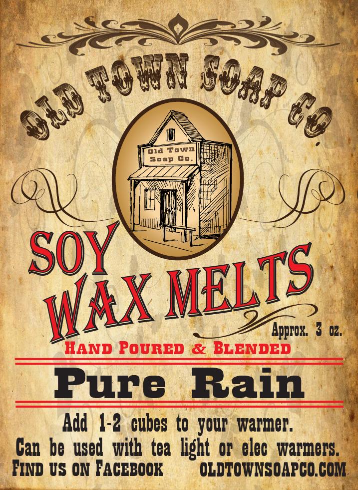 Pure Rain -Wax Melts