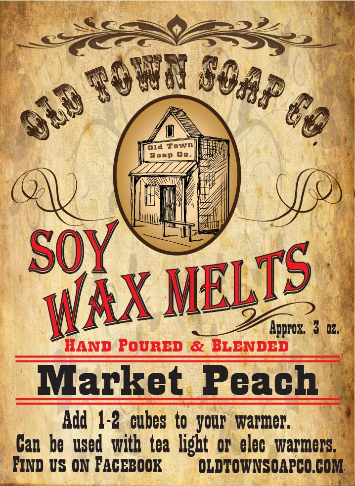 Market Peach -Wax Melts