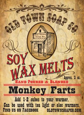 Monkey Farts -Wax Melts