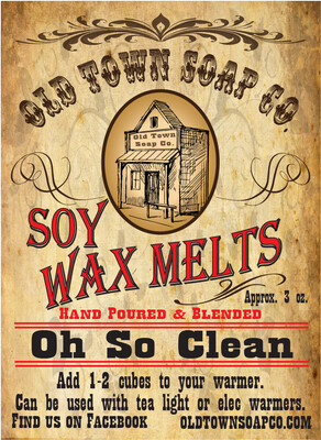 Oh So Clean -Wax Melts