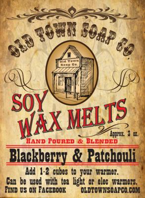 Blackberry & Patchouli -Wax Melts