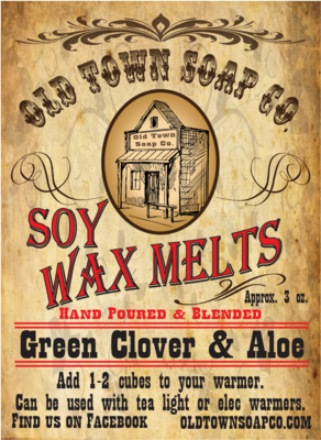 Green Clover & Aloe -Wax Melts