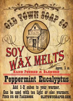 Peppermint Eucalyptus -Wax Melts