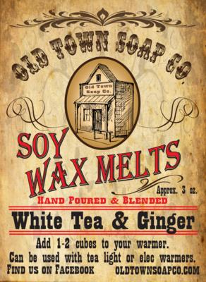 White Tea & Ginger -Wax Melts