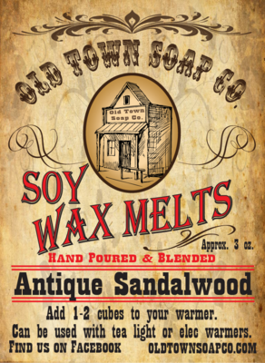 Antique Sandalwood -Wax Melts
