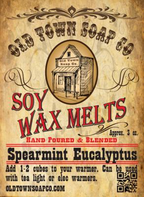 Spearmint Eucalyptus -Wax Melts