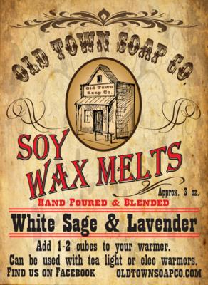 White Sage & Lavender -Wax Melts