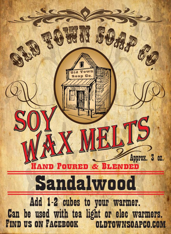 Sandalwood -Wax Melts