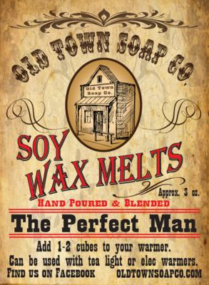The Perfect Man -Wax Melts