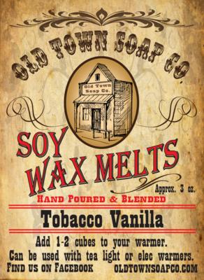 Tobacco & Vanilla -Wax Melts