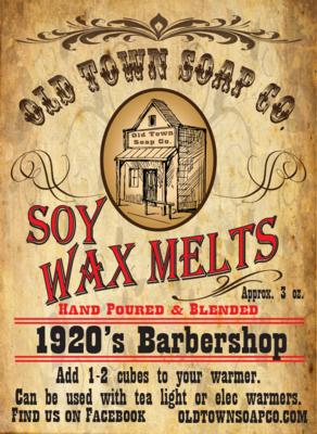 1920's Barbershop -Wax Melts