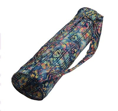 Hugger Mugger Batik Mat Bag Blue Multi Color