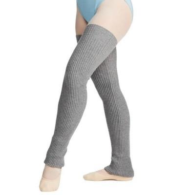 """Capezio Grey Leg Warmers 27"""""""