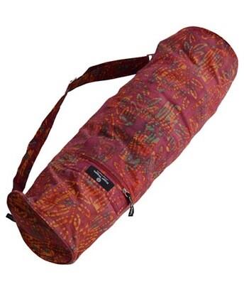 Hugger Mugger Batik Yoga Bag Red Willow