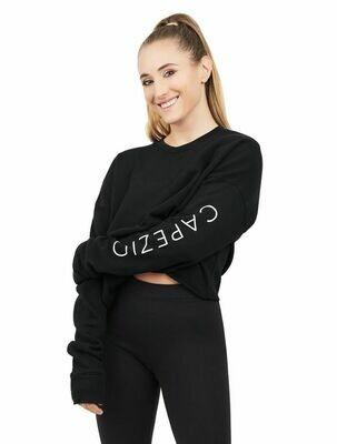 Capezio Logo Crop Sweatshirt