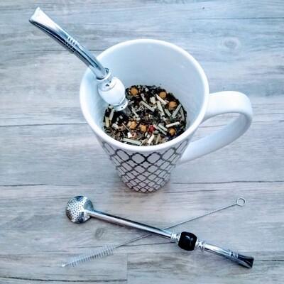 Modest Mix Bombilla Tea Straws