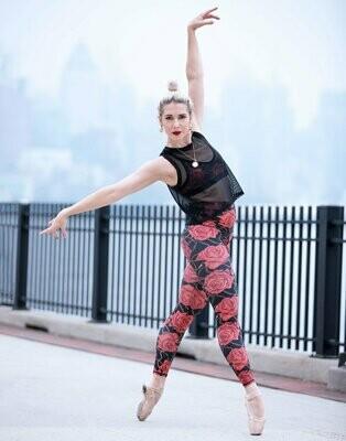 Emily Hsu Baroque Rose Legging