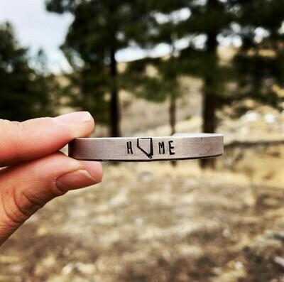 High Country Metal Cuff Bracelet