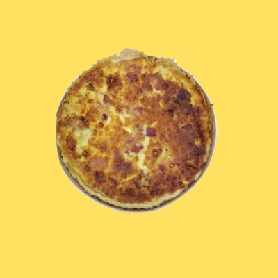 Quiche 8 - Bacon Onion