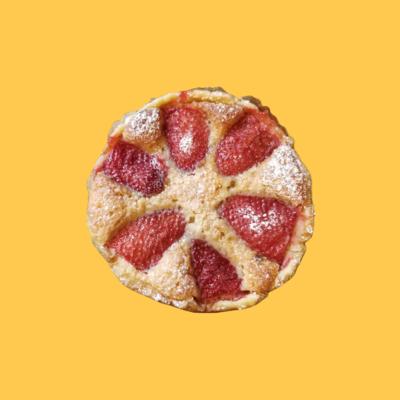 Amandine Tart-Strawberry