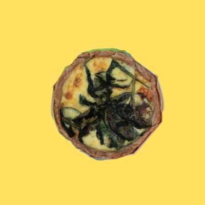 Quiche - Spinach